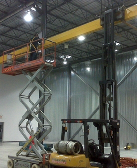 Inspection and installation of cranes and hoists